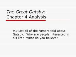 four symbols in the great gatsby the great gatsby discussion questions ppt download