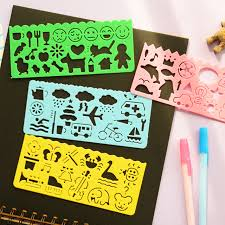 photo albums for kids 4 pcs colorful different drawing shapes kids decor props painting