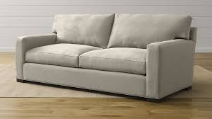 crate and barrel lounge sofa slipcover axis ii grey 2 seat couch reviews crate and barrel