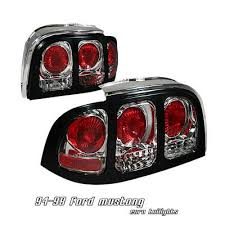 1994 mustang tail lights ford mustang 1994 1998 clear altezza tail lights a10105pj110