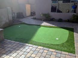 Putting Turf In Backyard Fake Turf Pinon Hills California Indoor Putting Greens Backyard