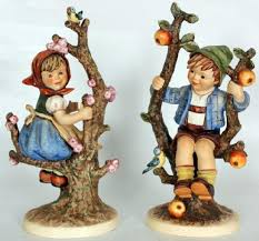 hummel figurines apple tree boy and memories of