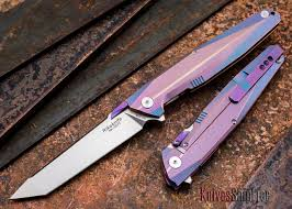 rike knives 1507t kwaiken tanto purple blue titanium cts