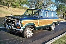 old jeep grand wagoneer wagonmaster vintage jeep wagoneers uncrate