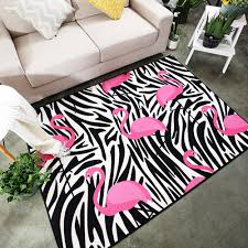 Black And Pink Rugs Black White Rugs Promotion Shop For Promotional Black White Rugs