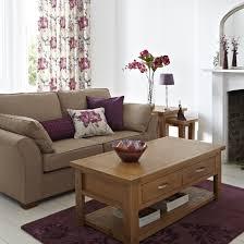 Purple Living Room Interior Design Ideas Plum Perfection For A - Purple living room decorating ideas