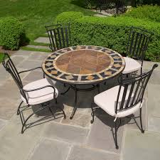 Outdoor Bistro Chairs Furniture Mosaic Bistro Table For Your Outdoor Furniture U2014 Somvoz Com