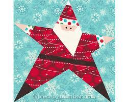 santa quilt pattern paper piecing quilt patterns