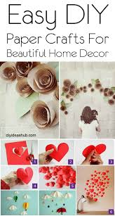 diy paper crafts for beautiful home decor