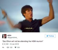 Zac Efron Meme - zac efron is making a lot of enemies by missing the high school