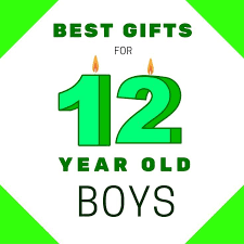 find the best gifts for 12 year boys here