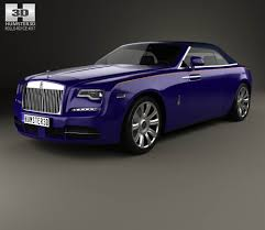 roll royce 2017 rolls royce dawn 2017 3d model hum3d