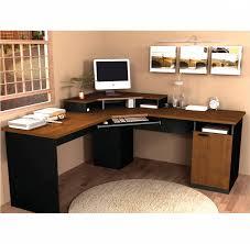 Computer Desk Toronto Bestar Hampton Corner Desk Tuscany Brown Black Desk Ideas