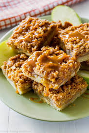 night before thanksgiving bar salted caramel apple pie bars sallys baking addiction