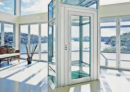electrical elevator commercial panoramic domuslift igv group