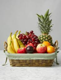fruit basket gift fruit baskets luxury traditional fruit gift hers m s
