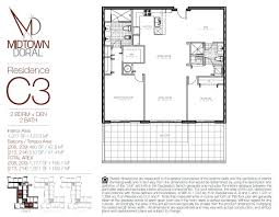 Midtown Residences Floor Plan by Midtown At Doral U2013 Miami