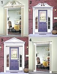 Interior Door Trim Kits Exterior Door Trim Kit Trim Medium Size Entry Door Moulding Kit
