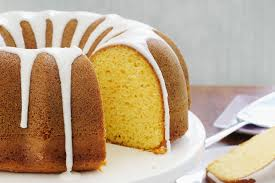 luscious lemon sour cream cake recipe