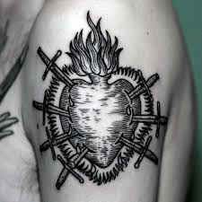 80 woodcut tattoo designs for men engraved ink ideas