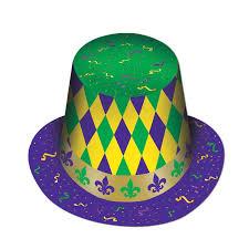 mardi gras hat mardi gras harlequin top hat doolins