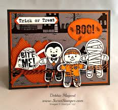 bite me with stampin u0027 up cookie cutter halloween