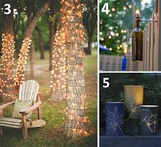 Solar Garden Tree Lights by 6 Diy Outdoor Lighting Ideas For Your Garden