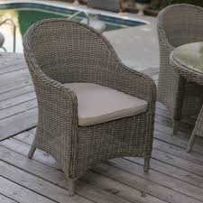 Outdoor Rattan Armchairs Awesome Perfect Outdoor Wicker Dining Chairs 17 Best Pertaining To