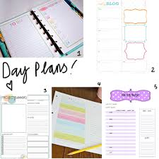 free printable daily planner pages 2014 free printable day planner insertsmade peachy