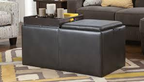 Buy Ashley Furniture Hodan Marble Ottoman with Storage