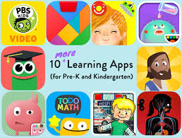 10 learning apps for pre k and kindergarten a bright neighborhood
