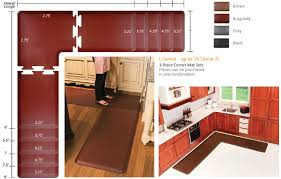 L Shaped Kitchen Rug Enchanting L Shaped Kitchen Rug With Customized Kitchen Puzzle
