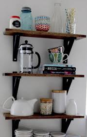 diy ideas for kitchen diy kitchen shelves pict information about home interior and