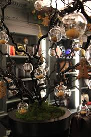 Halloween Tree Craft by Gothic Christmas Tree Treats Handmade Xmas Pinterest