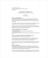 employment contracts contract template 09 40 great contract