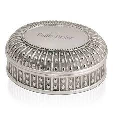 silver keepsake box oval silver keepsake box