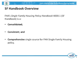 Hud Reo Appraisal Mortgagee Letter fha appraisal overview