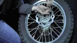 galfer rear off road brake disc install on a suzuki drz400s youtube