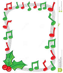 christmas cocktails clipart christmas music border clipart u2013 happy holidays