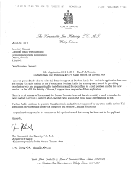sample of acknowledgement letter for project report copy 2 jan 3 2008 jim flaherty crtc letter