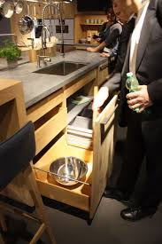 Kitchen Cabinets Slide Out Shelves Wood Kitchen Cabinets Just One Way To Feature Natural Material
