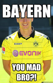 Lewandowski Memes - bayern you mad bro lewandowski troll quickmeme