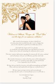 Wedding Itinerary Template For Guests Wedding Program Templates And Wording For Indian Wedding Programs