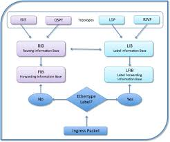 Route Map Cisco by Juniper And Cisco Comparisons Of Rib Lib Fib And Lfib Tables