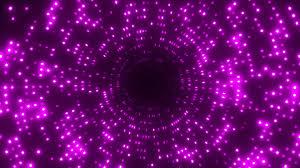 purple light tunnel hd background loop