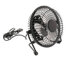 petit ventilateur de bureau hq mini ventilateur usb noir fn04bl achat accessoires de