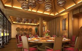 restaurants wood ceilings designs imitation wood grain design of