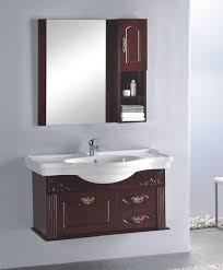 Corner Bathroom Vanities And Cabinets by Bathroom Wooden Teak Bathroom Vanity Cabinets With Mirrored