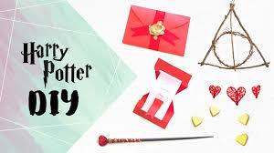 harry potter diy 5 easy gift ideas youtube