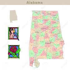 Alabama Counties Map Alabama State Maps Usa Maps Of Alabama Al Alabama Outline Maps